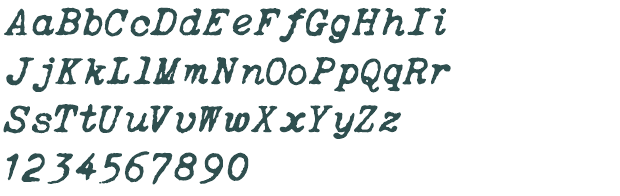 ITALIC_TYPEWRITER__font_preview_77832_2